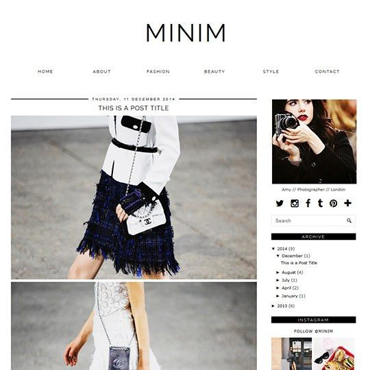 Professional Blogger Templates | Stylish Blogspot Themes