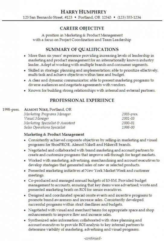 Download Resume Professional Summary | haadyaooverbayresort.com