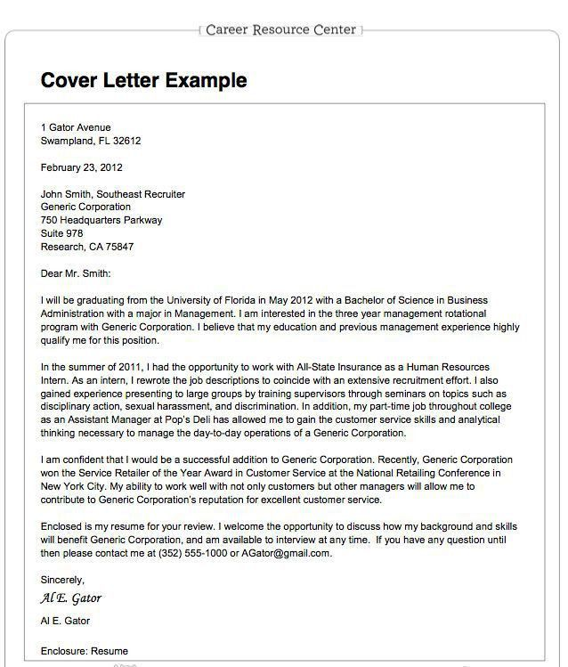 Download What Is A Cover Letter For A Job Resume ...