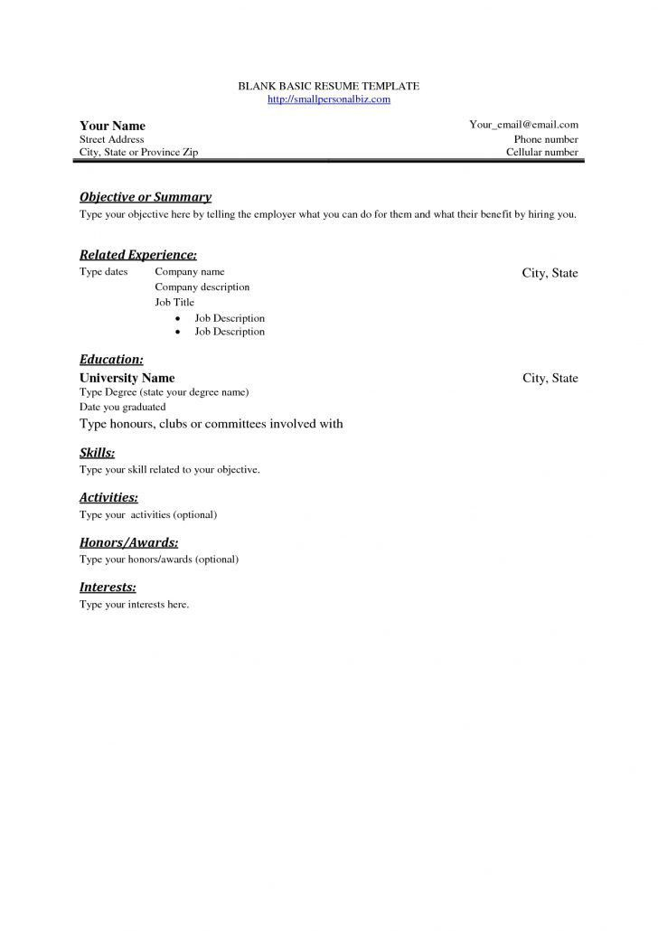 Does Openoffice Have Resume Templates - Huanyii.com