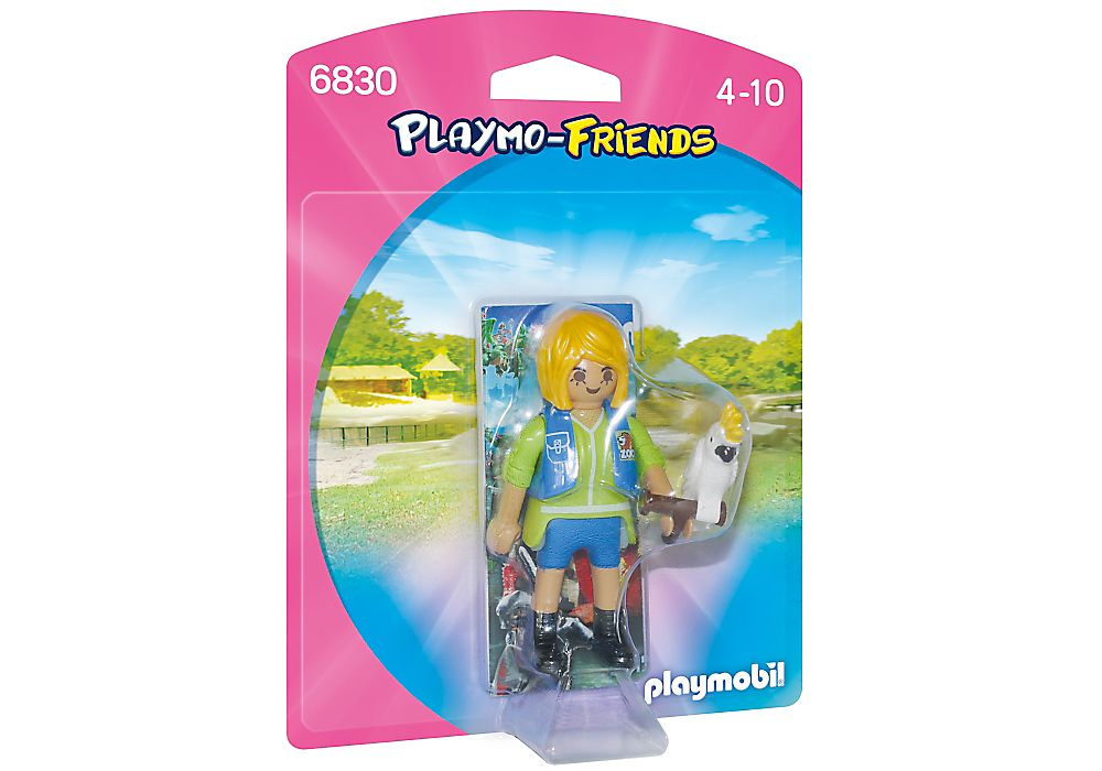 PLAYMOBIL: Playmo-Friends - Animal Trainer with Cockatoo - 6830 ...