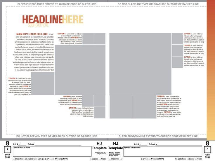 Best 25+ Yearbook template ideas on Pinterest | Creative yearbook ...