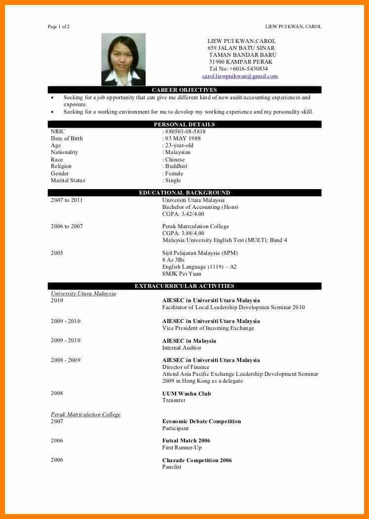 4+ resume objective sample for fresh graduate | forklift resume