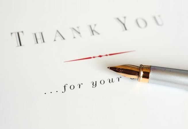 How to Write a Thank You Note After a Funeral