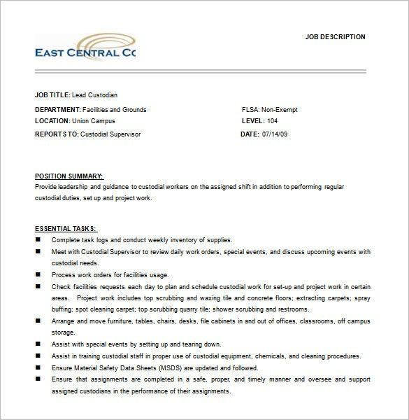 Carpet Cleaning Manager Job Description - Carpet Vidalondon