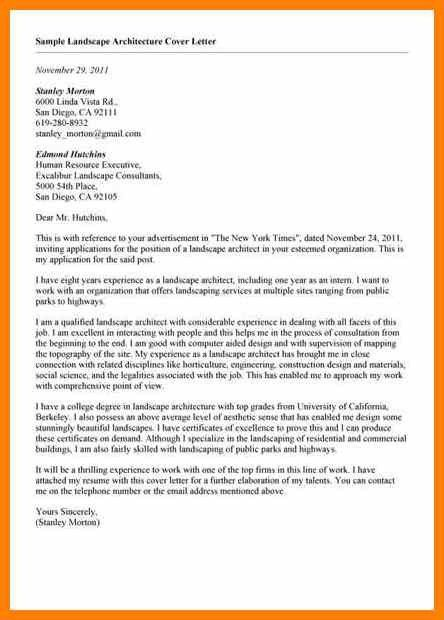 7+ cover letter for architect | report examples