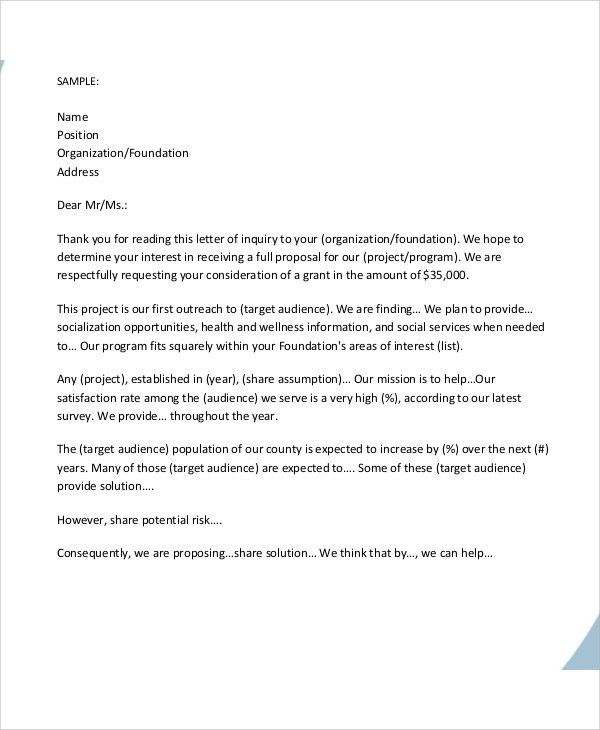 letter of support for grant proposal sample google search. rfp ...