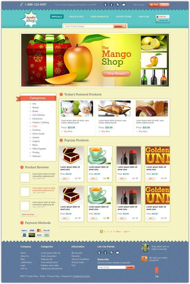 99+ Free Photoshop PSD Website Templates - Web Creative All