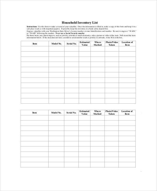 Sample Lists