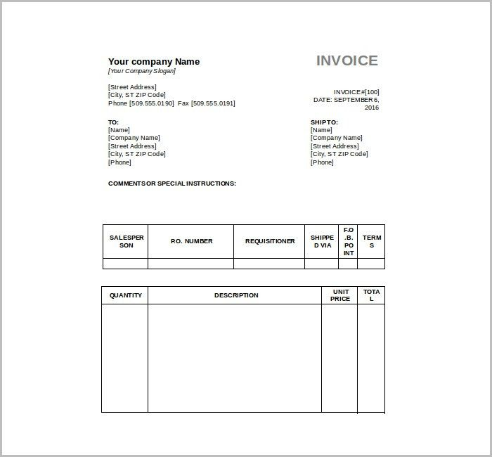 9+ Free Tax Invoice Templates | Free & Premium Templates