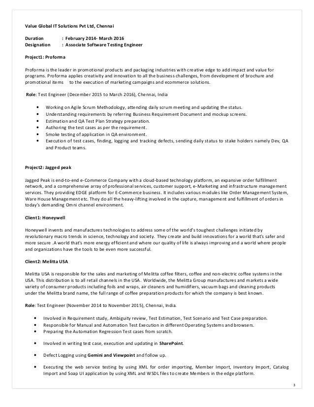 Prasanna_Software Testing Engineer resume