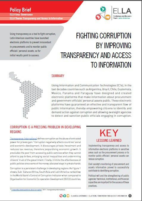 Freedom of Information Advocates Network – Policy brief – Fighting ...