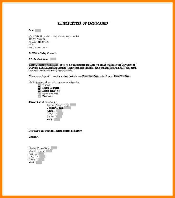 9+ letter sponsorship invoice | grocery-clerk