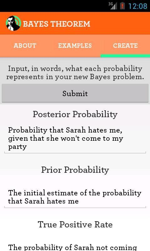 Bayes Theorem - Android Apps on Google Play