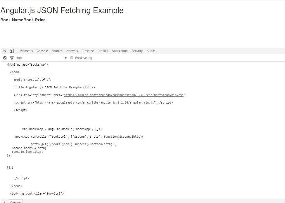 javascript - Angularjs: load contents from local json file - Stack ...
