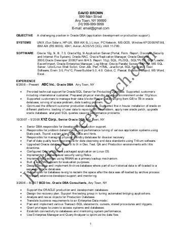 data warehousing resume sample well written resume objectives ...