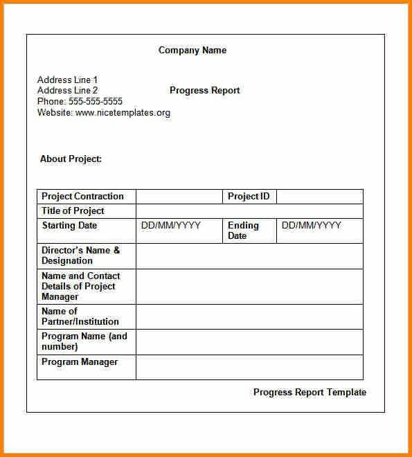 8+ weekly report format | Reimbursement Letter