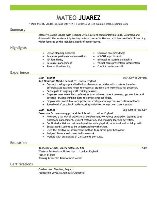 Prissy Ideas Kindergarten Teacher Resume 13 Cover Letter Example ...