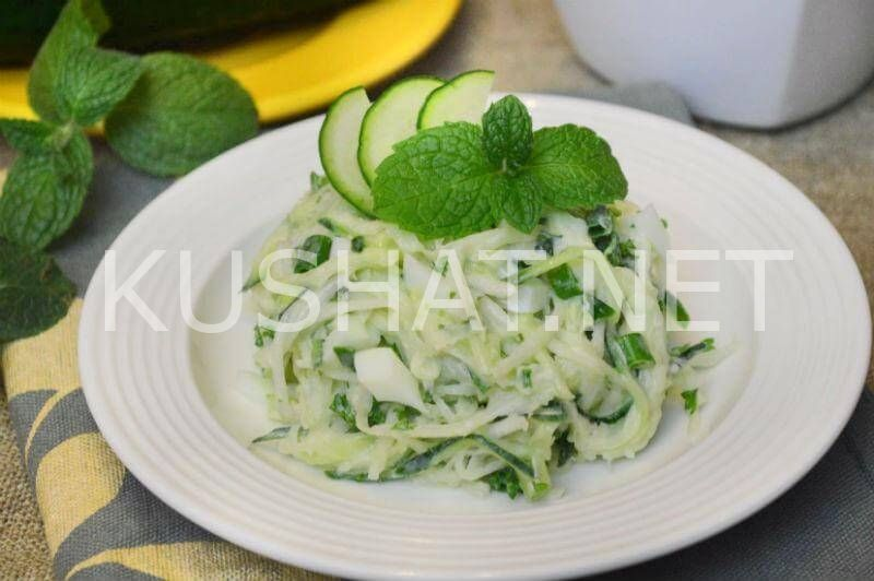 Салат из редьки пошагово с рецептом