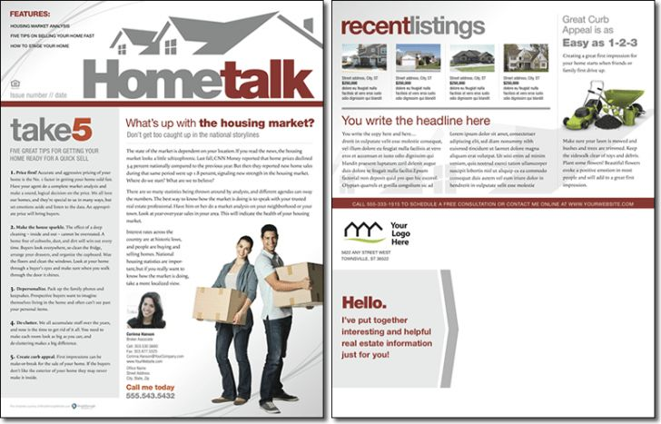 Hometalk Newsletter Template: Issue 0