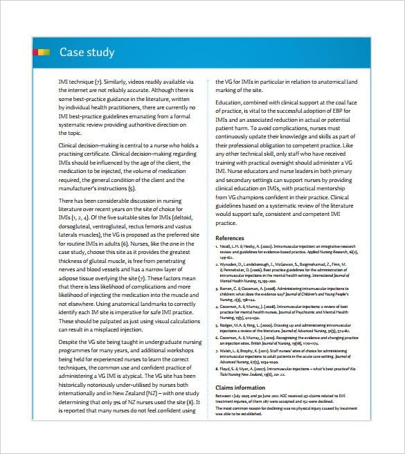 12+ Case Study Templates – Free Sample, Example, Format Download ...