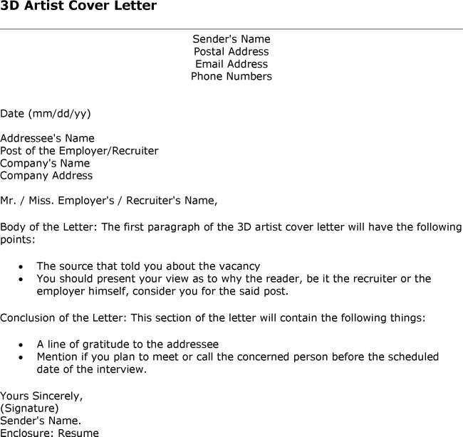 Delightful 3d Animator Cover Letter] 3d Animator Cover Letter Sample .