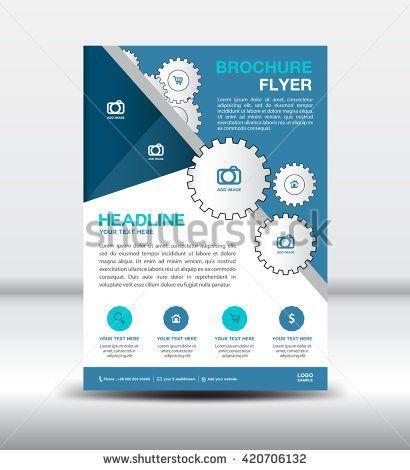 "ganpanjanee's ""Single page Flyer template design"" set on Shutterstock"