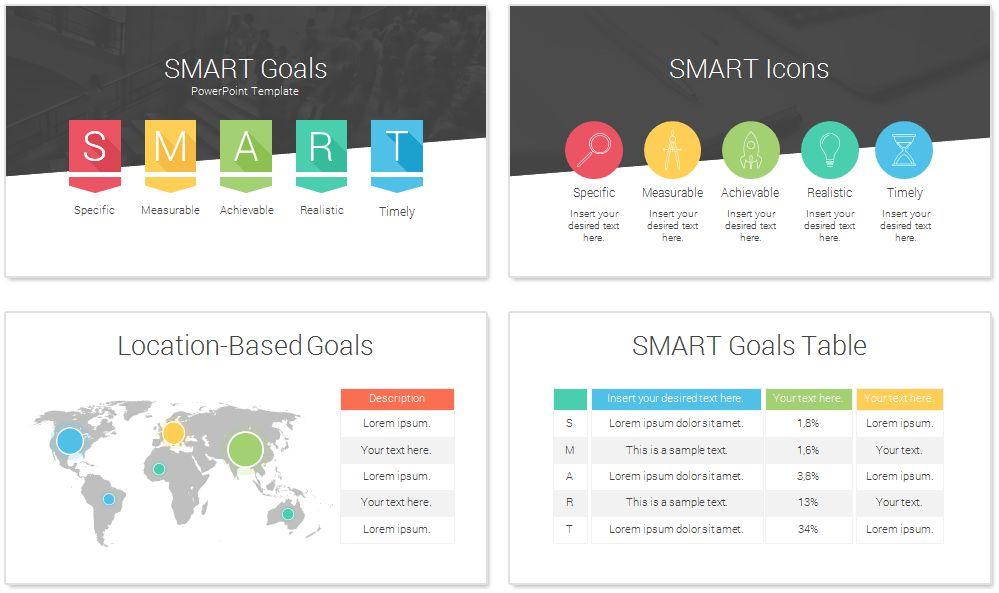 goal powerpoint template smart goals powerpoint template ...