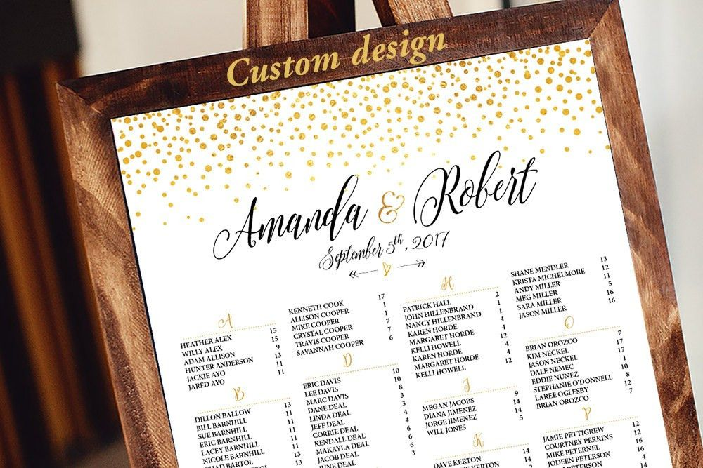 aquariusds - Wedding seating chart template, Wedding seating chart ...