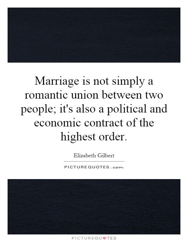 Marriage Contract Quotes & Sayings | Marriage Contract Picture Quotes