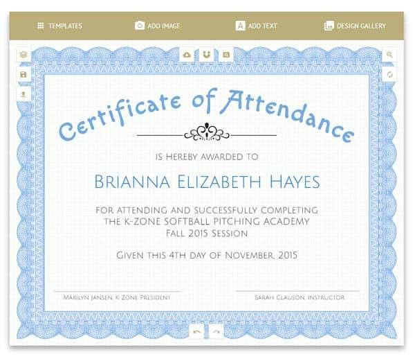 Free Certificates | Templates, Borders, Frames and More