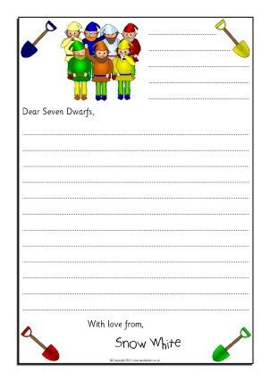 Letter Writing Frames and Printable Page Borders KS1 & KS2 ...