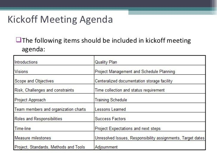 Agenda Template Meeting | Professional Templates - Part 2