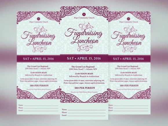 Love awesome design? Feast your eyes on Fundraising #Luncheon ...