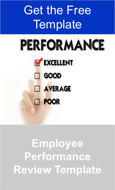 Employee Performance Review Template — Manager Foundation