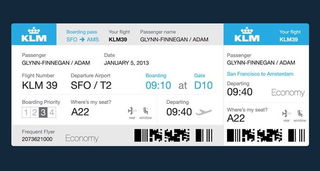 Dear Airlines: This Is What Your Boarding Passes Should Look Like ...