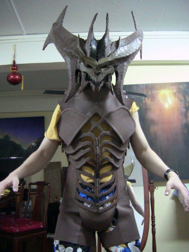 Eva Foam Armor | Diablo costume WIP - body + head by Clivelee ...