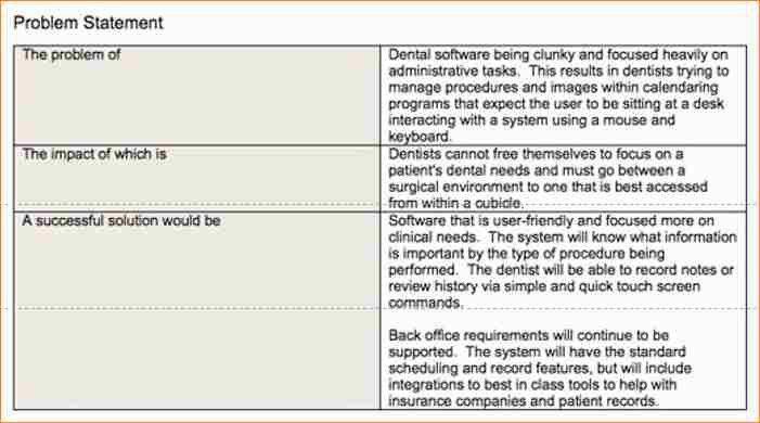 Problem Statement Template] Sample Problem Statement 8 Documents In ...