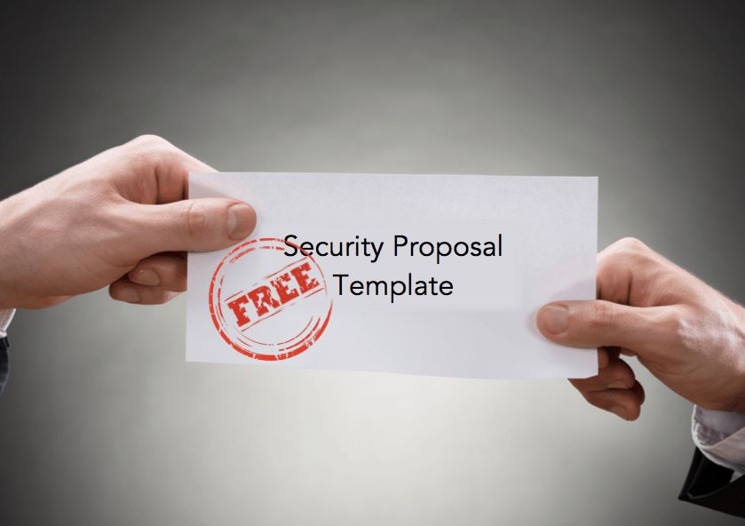 Free Security Proposal Template For Security Guard Companies