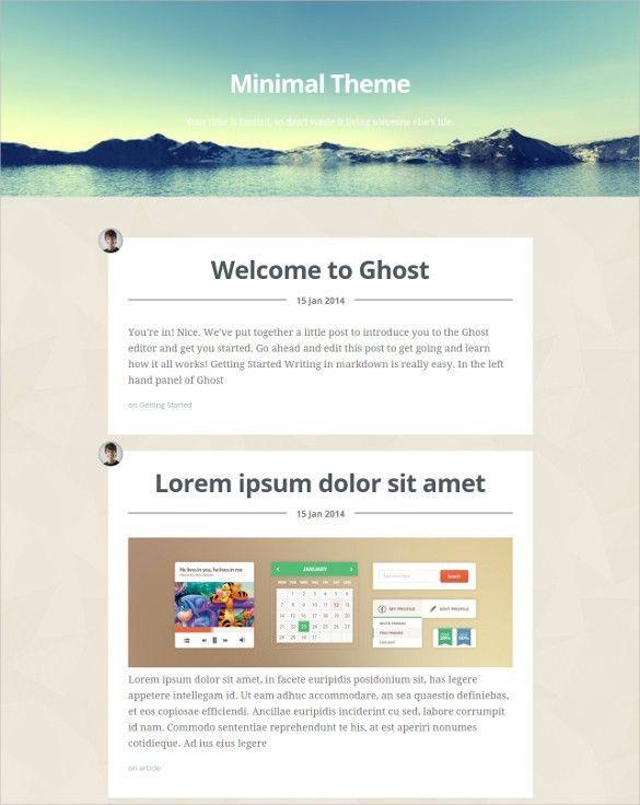 Html 5 Blog Website Templates & Themes | Free & Premium | Free ...