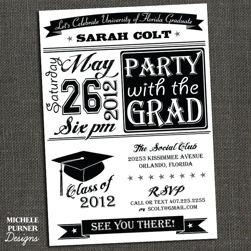 Best Compilation Of Free Graduation Party Invitation Templates For ...