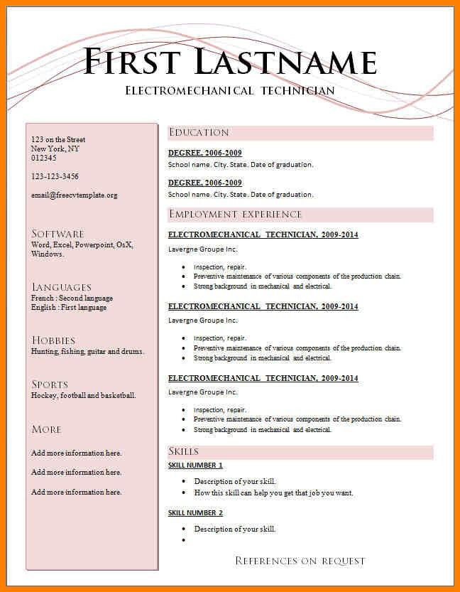 format resume resume cv cover letter. resume format 2016. latest ...