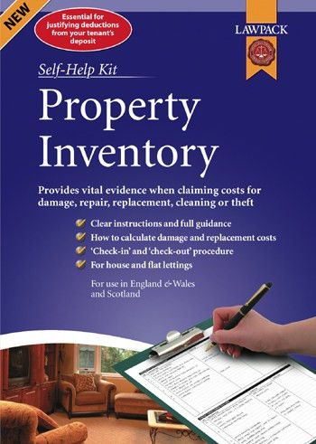 Property Inventory - Template Forms & Guidance | lawpack.co.uk