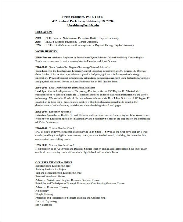 coach resume example coach resume example sample head coach