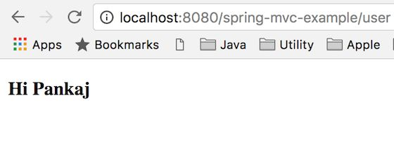 Spring MVC Example - JournalDev