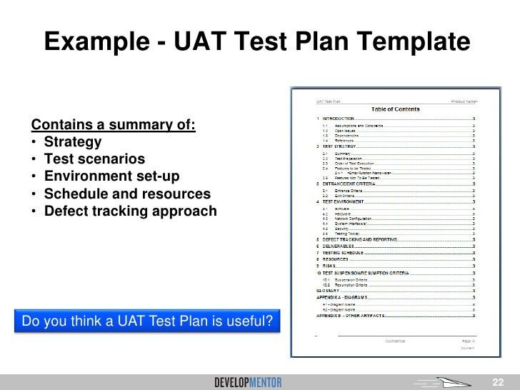 Overview of User Acceptance Testing (UAT) for Business ...