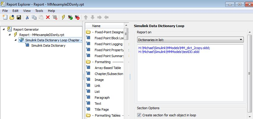 Run Simulink Data Dictionary child component for each Simulink ...