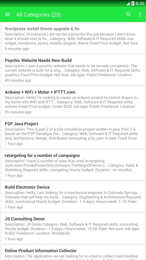 Freelance Jobs - Android Apps on Google Play