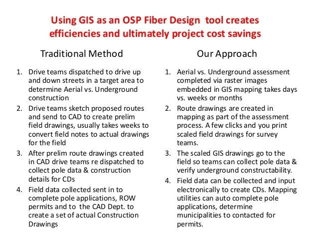 Madcom osp design, engineering & construction capabilities