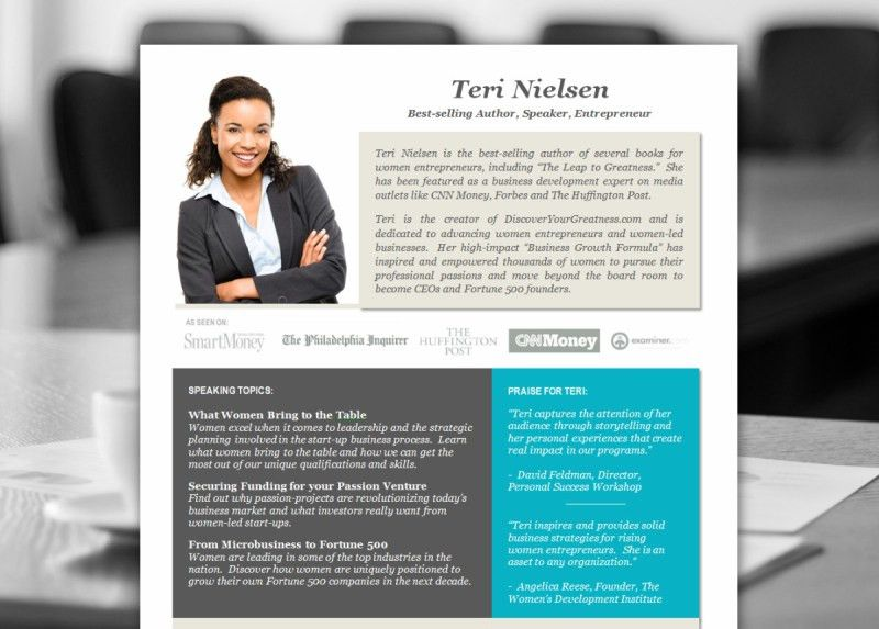 Professional Biography Template Word. how to write an effective ...